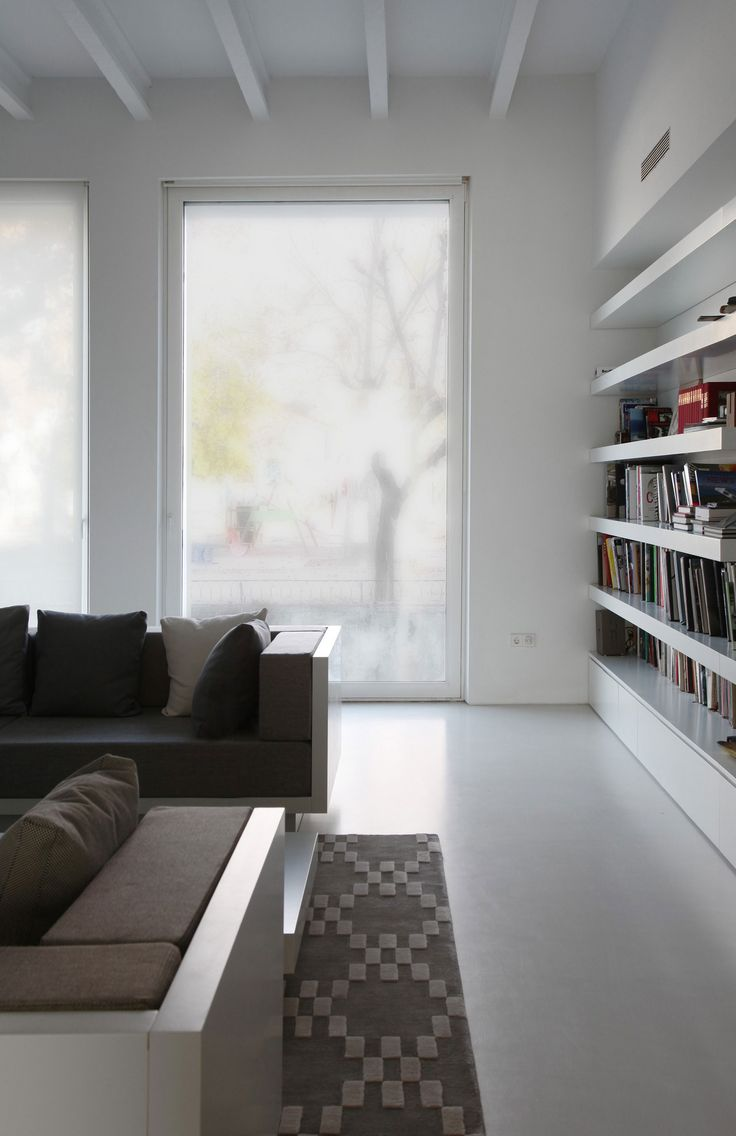 29 best living room images on pinterest architecture house decoration white themed in living room interior with wooden white and brown sofa set and