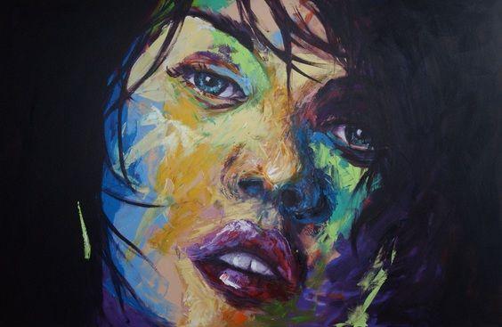Blair Logan Artist - Personalised Portraits - Portraits, Paintings, Artists, Colourful, Contemporary, Art