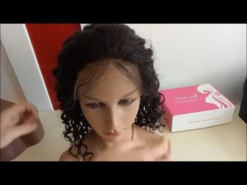 How To Style the Lace Front Wig with Combs and Straps