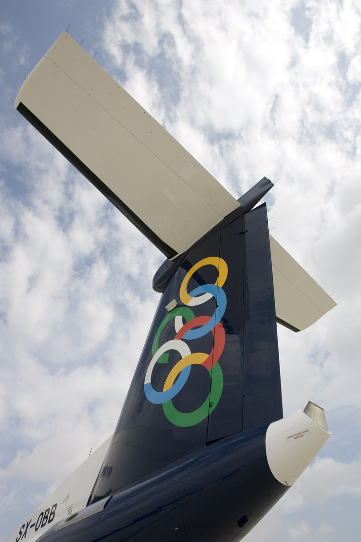 Olympic Air's Bombardier De-Havilland DHC8-Q400