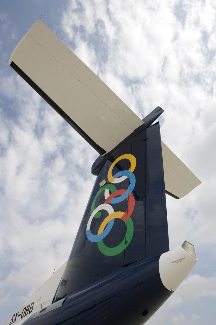 Olympic Air's Bombardier De-Havilland DHC8-Q400