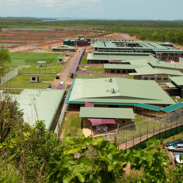 Hunger-striking asylum seeker paints grim picture of life in Darwin detention centre.