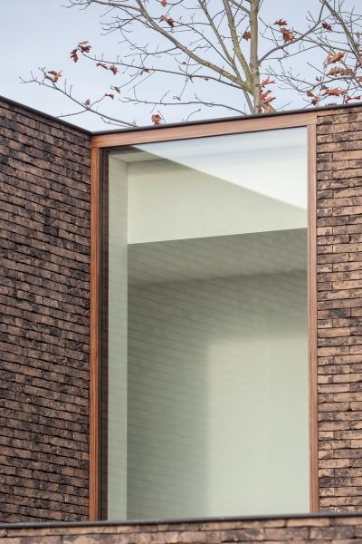 Window detail - house in Belgium by Caan Architecten