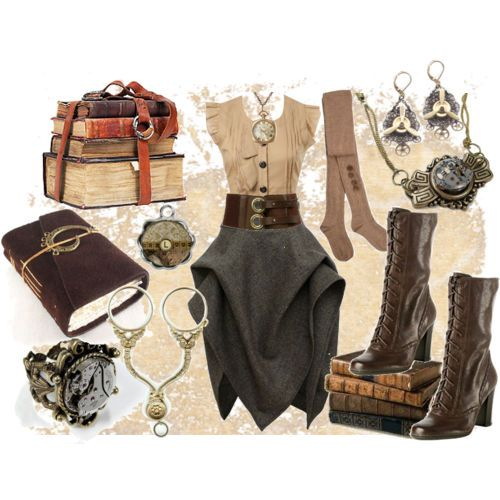 Steampunk annoys the hell out of me but I can't help liking this!