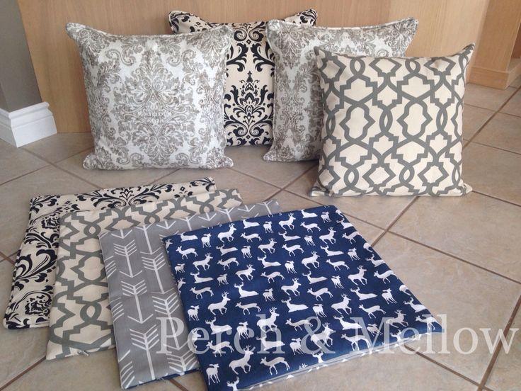 Sofa cushions.... Choices, choices