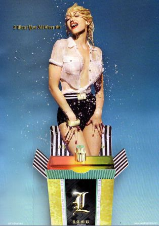 Gwen Stefani LAMB perfume ad