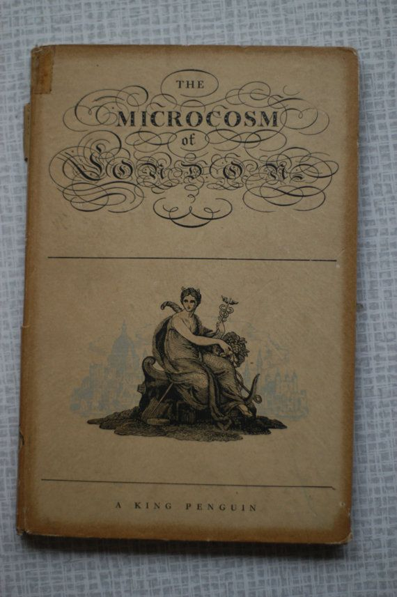 The Microcosm of London  T Rowlandson A C by ItsAGreatVintage