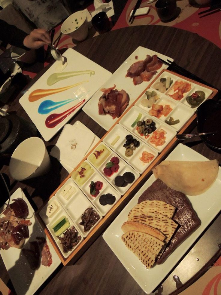 Is that Chocolate with Peking Duck?  The most incredible dinner in Taichung City, Taiwan