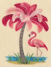 Finished Embroidery Flamingo Tree