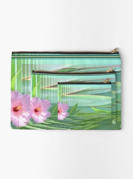 Studio Pouch Makeup Bag Cosmetic Vibrant High Quality Double Sided Prints That Won T Fade Durable 100 Polyester Canvas With A Metal Zipper