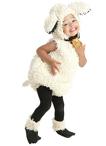 Oh the things my children will endure one day..... Baby Lovely Lamb Costume