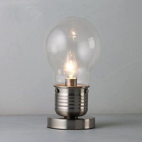 1000 images about Lighting – Light Bulb Desk Lamp