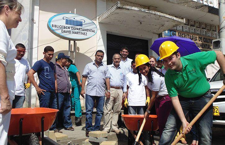 Iniciaron Trabajos de Remodelación Integral de la Biblioteca David Martínez