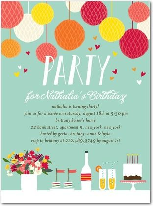 216 best birthday party ideas images on pinterest birthdays adult birthday party invitations lovely table front basil filmwisefo
