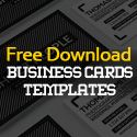 25 Free Business Cards PSD Templates - Print Ready Design