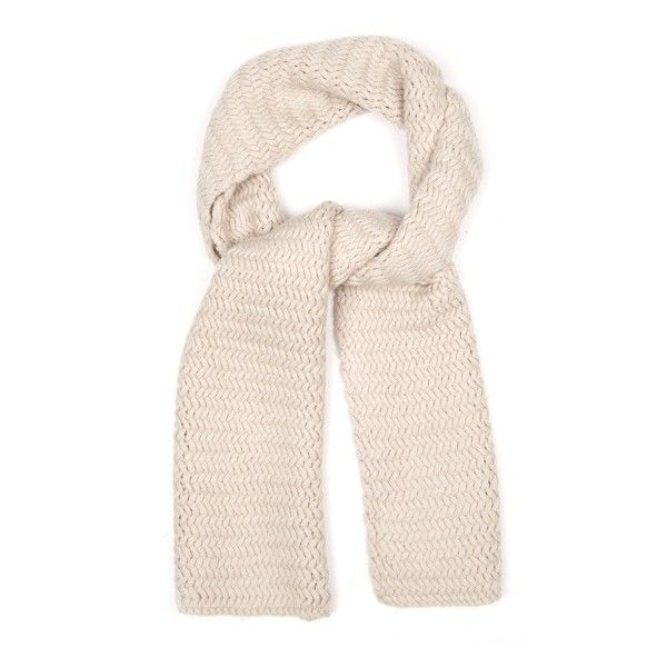 S Max Mara Dea scarf ($247) ❤ liked on Polyvore featuring accessories, scarves, beige, wrap scarves, print scarves, patterned scarves, chevron scarves and chevron print scarves