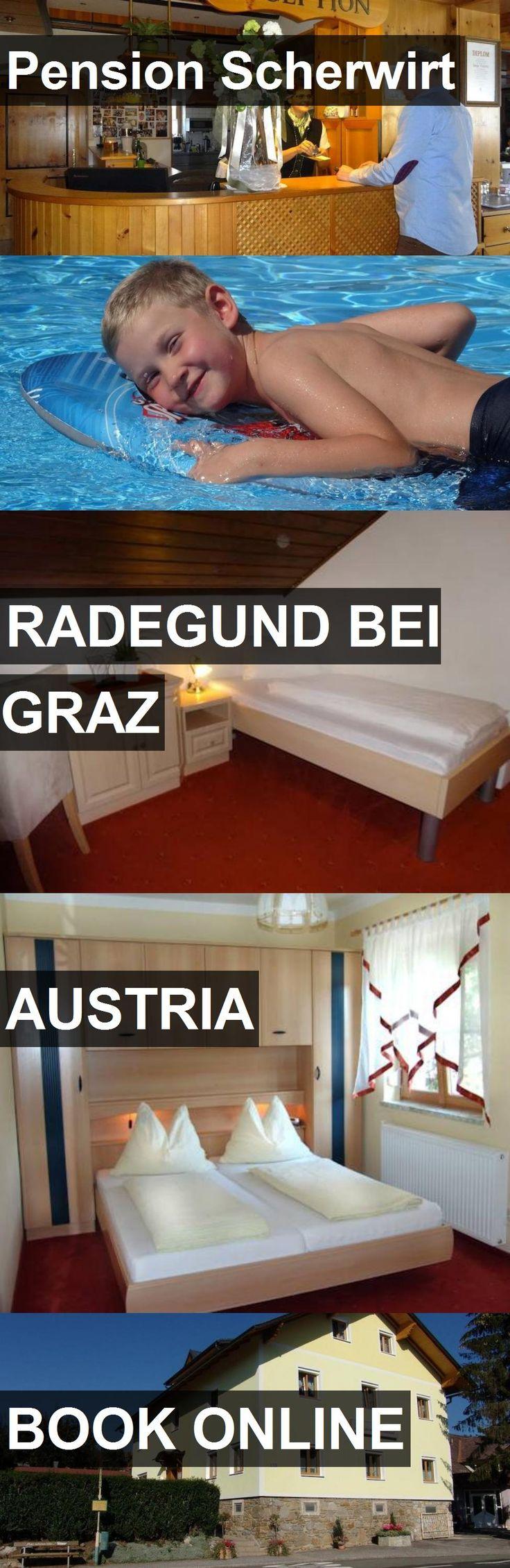 Hotel Pension Scherwirt in Radegund bei Graz, Austria. For more information, photos, reviews and best prices please follow the link. #Austria #RadegundbeiGraz #travel #vacation #hotel