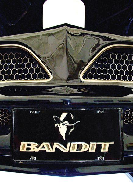 "El Camino Parts >> ""Bandit"" license plate. | Burt Reynolds | Pinterest | License plates, Plates and Firebird"