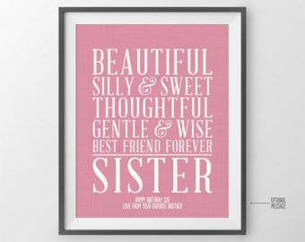 Maid of Honor Gift for Bridesmaid Gift for Sister Gift for
