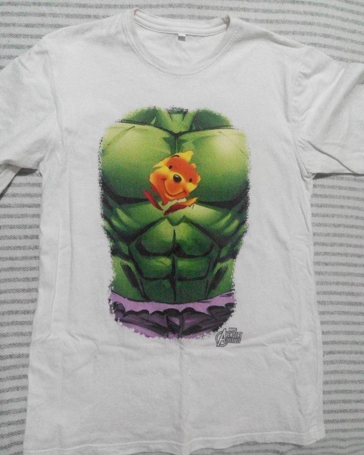 #hulk #pooh #inside #shirt #printed #DIY