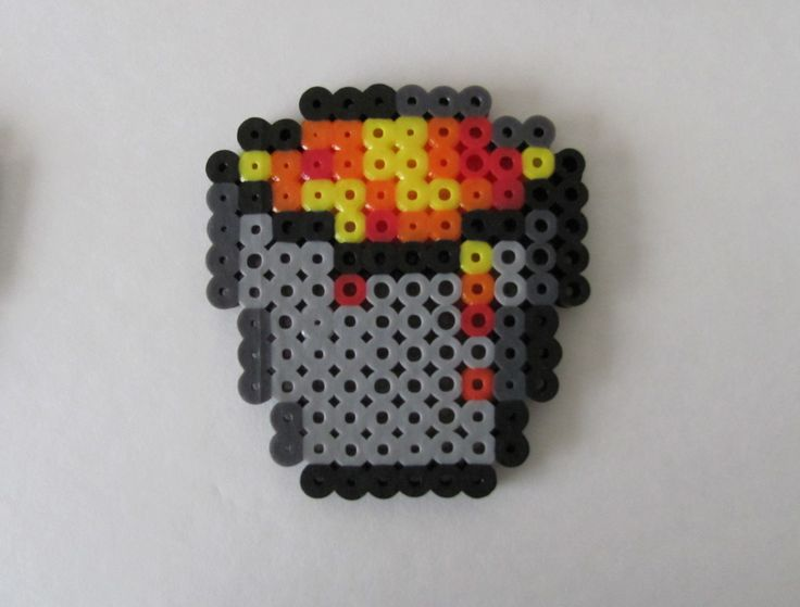 Minecraft Splash Potion Perler Beads