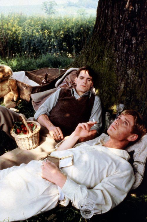 Jeremy Irons and Anthony Andrews in Brideshead Revisited 1981
