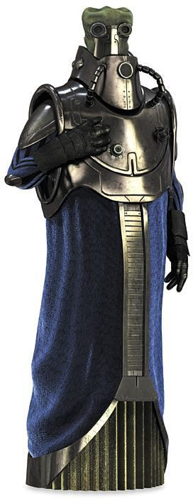 """#MidweekPedia  WAT TAMBOR / Separatists' Techno Union Foreman  DESCRIPTION: was a Skakoan male from the planet Skako. He was the Foreman of the Techno Union and Executive of Baktoid Armor Workshop, and also held the title of """"Emir."""" Beginning his career as the Techno Union Representative in the Galactic Senate, Tambor shot up through the ranks of the Union, eventually getting the top job."""