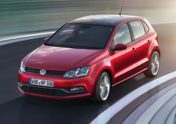 2014 Volkswagen Polo Front Photos 600x424 2014 Volkswagen Polo Full Review With Images