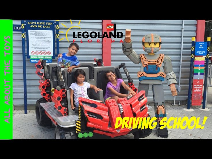 Legoland Orlando Driving School ! Driving school