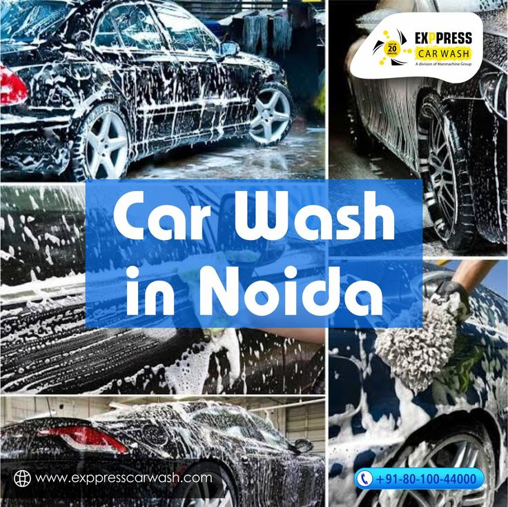 Car Wash Service in Just 20 minutes by Exppress Car Wash