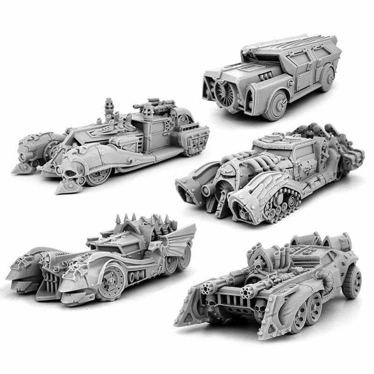 Inquisition vehicles