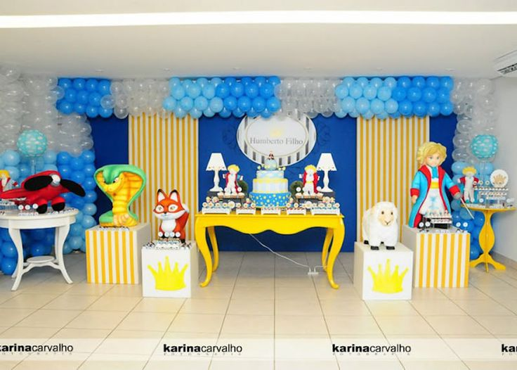 little prince birthday party