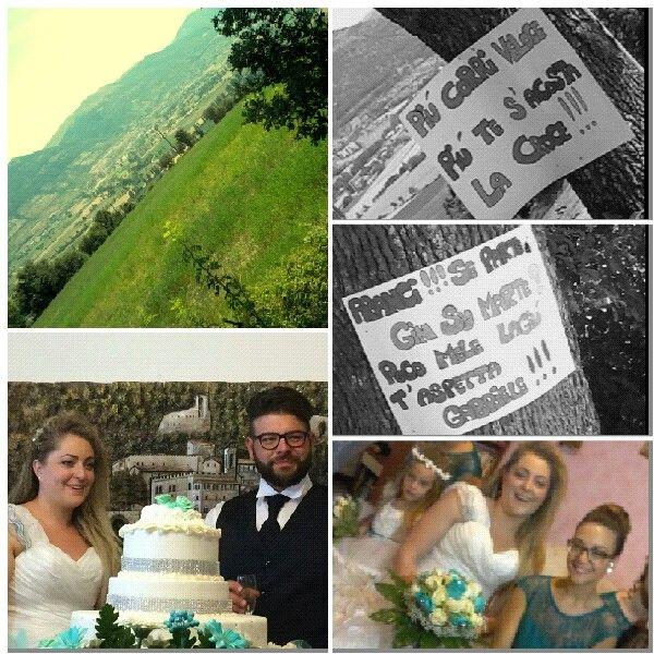 Gubbio  4 luglio 2015....Wedding