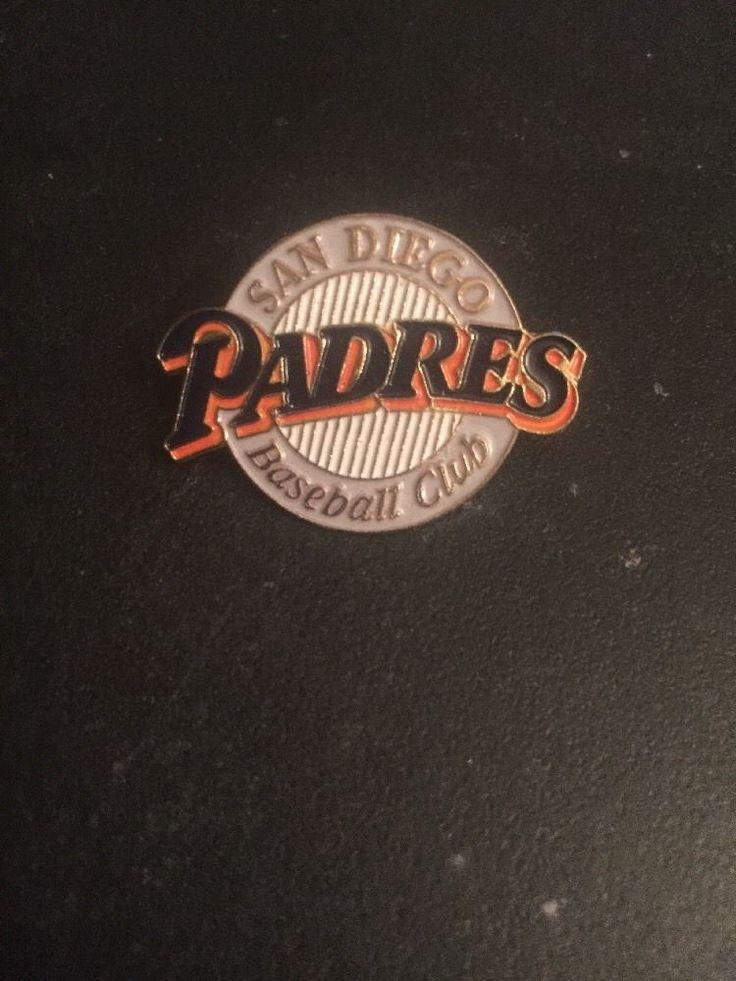 San Diego Padres MLB Lapel Hat Pin