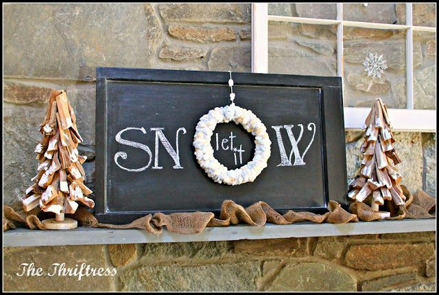 looks fun and easy to make!! small rough wood tray, black spray paint, white paint and stencils, don't forget a small round hoop and either fake pearls or glitter!!!