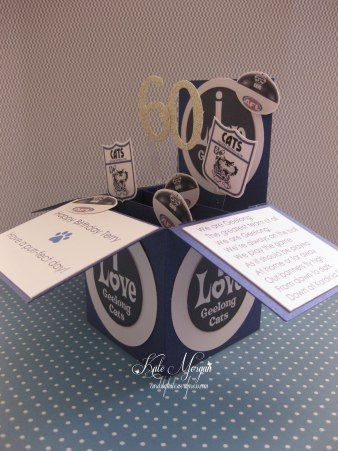 Card in a Box AFL Geelong Cats, even includes the theme song. View blog for more inspiration!