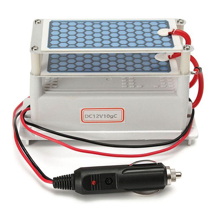 Durable Quality 10g Car Ozone Generator Ozonizer Ceramic