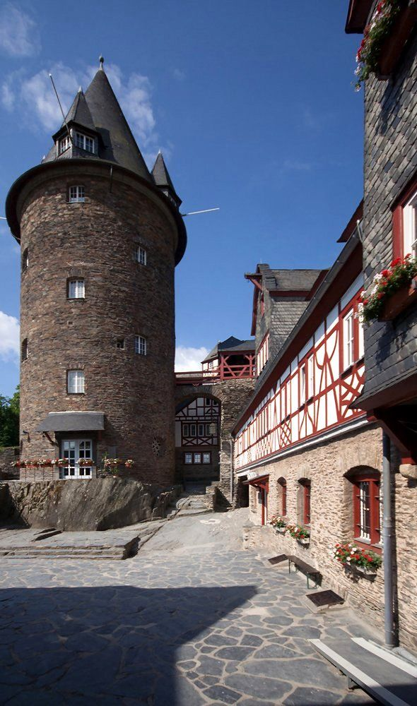 Burg Stahleck - Bacharach, Rhineland-Palatinate, Germany | by Wmr Wolfgang Müller