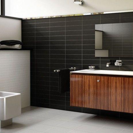 Sabco - Evolution Negro Plain  Kitchen splashback