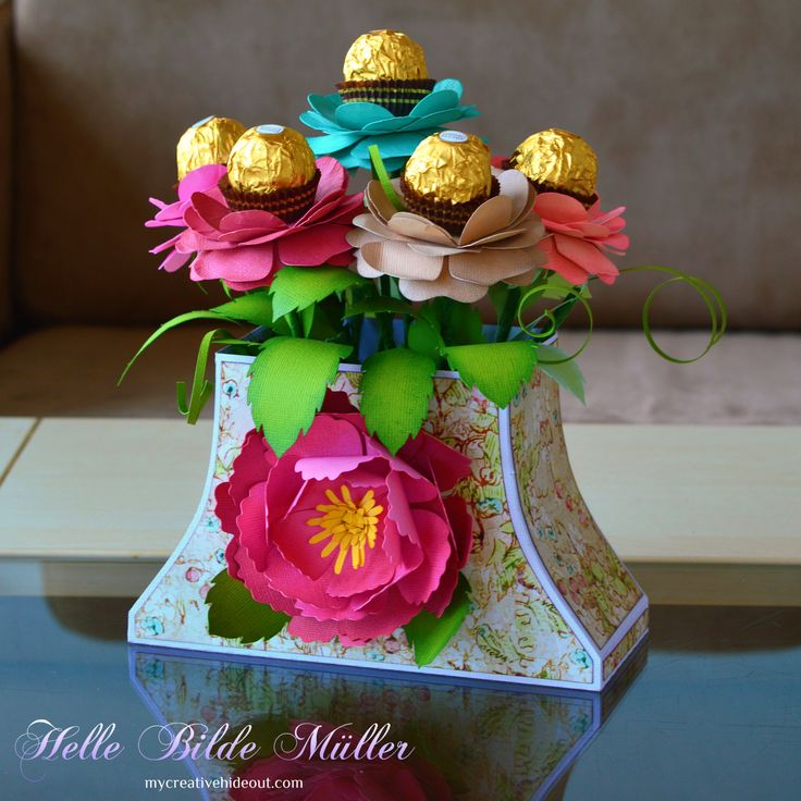 Mother's Day Bon Bon Bouquet #dreamingtree #3dsvg
