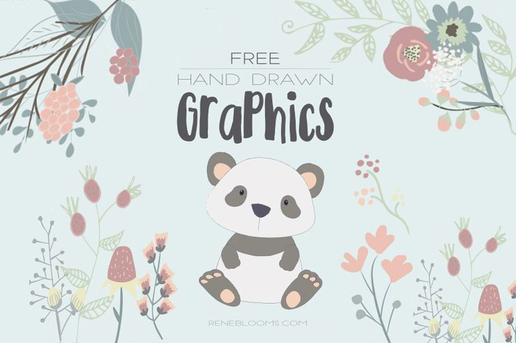 Lovely Handdrawn Free Vector Graphics are coming to you from our lovely author. This beautiful set contains delightful