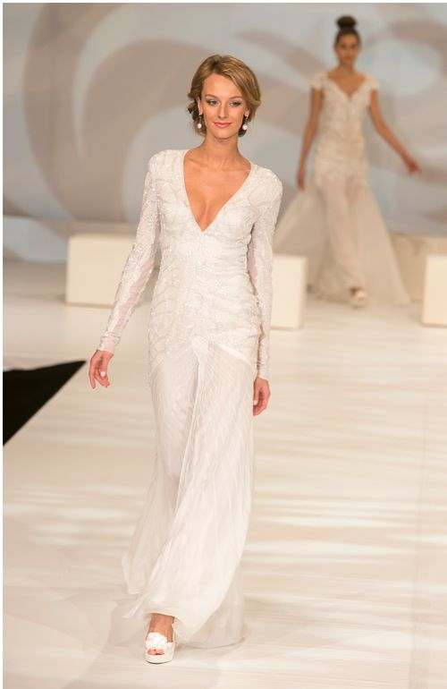 Gorgeous gown from Tanya Didenko.