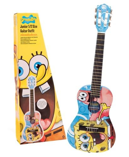 SpongeBob SquarePants: Junior ½ Size Guitar Pack. £55.00