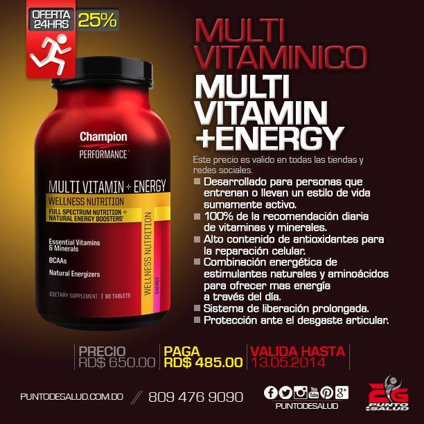 Multivitaminico - Multi vitamin + energy
