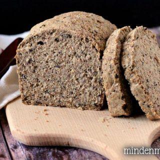 Mindenmentes cirokos cipó (gluténmentes, élesztőmentes házi kenyér) - Nóri mindenmentes konyhája
