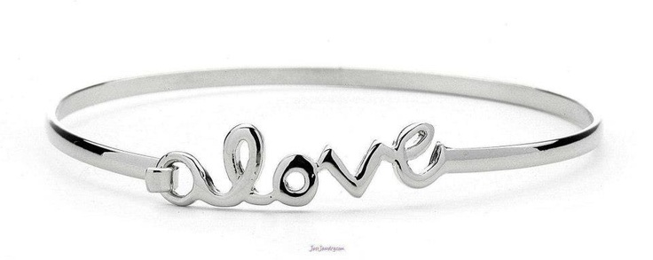 "Stack It!  Or Love it on it's own.  ""Love at First Sight"" Bracelet  by: Just Jewelry"