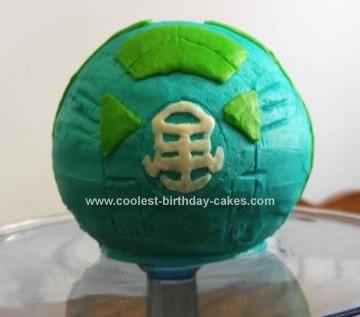 Pokeball Birthday Cake Round Tin