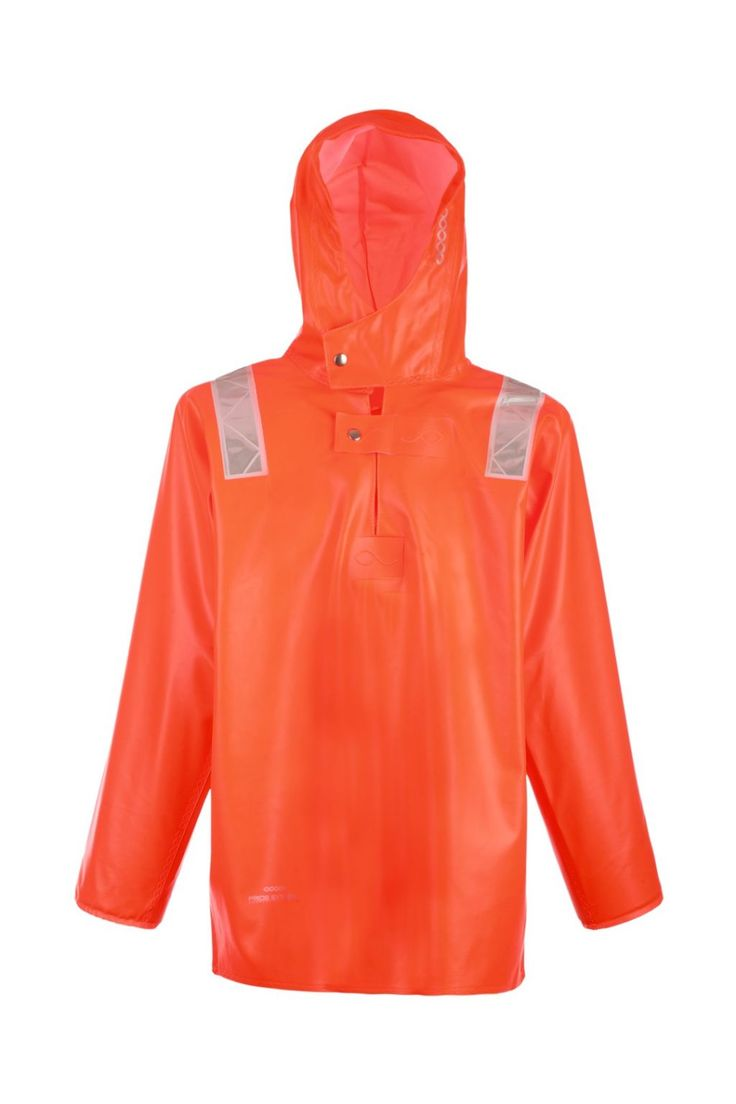 WATERPROOF STORM SMOCK model: 3077 Waterproof smock model 3077 is made of very resistant fabric with high parametres of resistance against salt water and flame retardant features as well. The smock is recommended for people who work on high seas, but also for those, who have manual fishing labor and works at land in extreme weather conditions (rain along with strong wind).