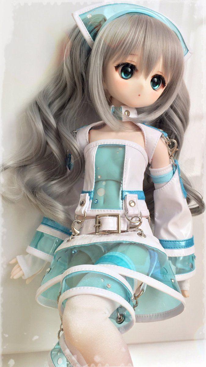 さくら ゆい on Twitter   Bjd dolls girls, Anime dolls, Cute dolls
