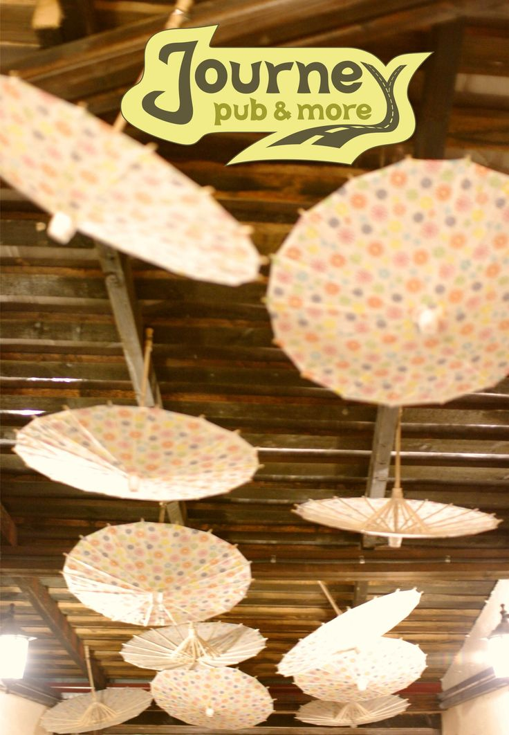 Umbrellas on our corridor